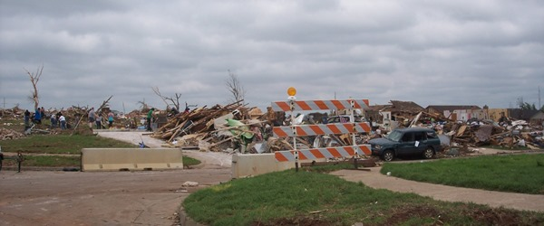 Wreckage of Moore Tornado
