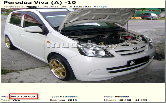 Perodua Viva  A  - Cars for sale Perak - Mudah.my-132936