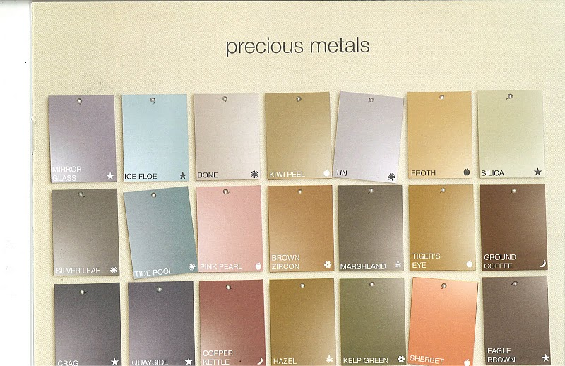 variety of colors in the precious metals collection i could definitely
