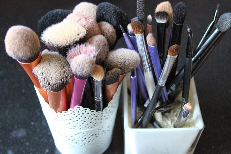 how to clean make up brushes properly magic soap olive oil