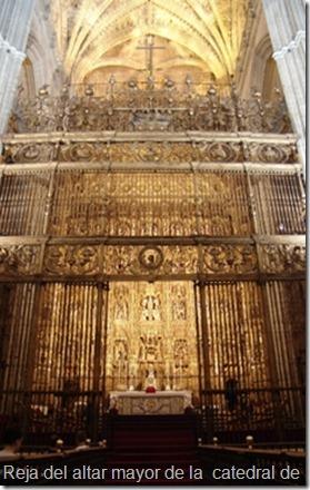 Reja de la catedral de Sevilla