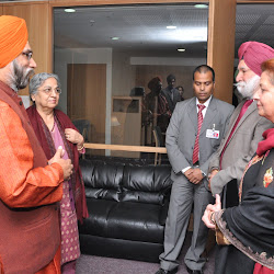 Introducing Dr Amrik Chattha and Mrs Jaswinder Kaur to Mrs Gursharan Kaur