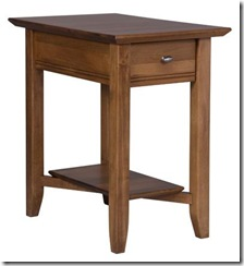 Isabelle Narrow End Table