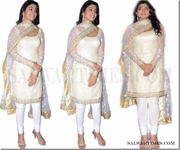 Shriya_Saran_Cream_Designer_Salwar copy