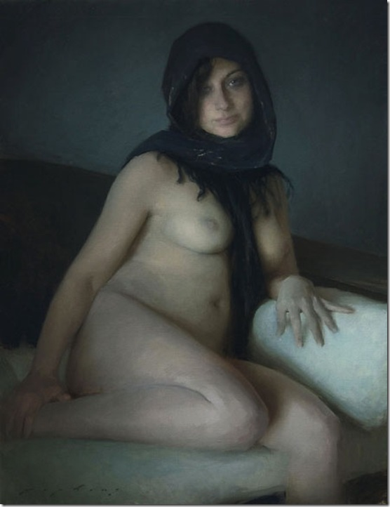 Grey Nude_40x30