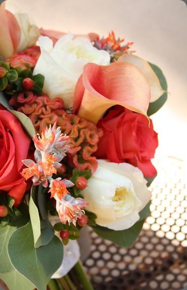 coralrosescelosiabouquetvpollen floral art