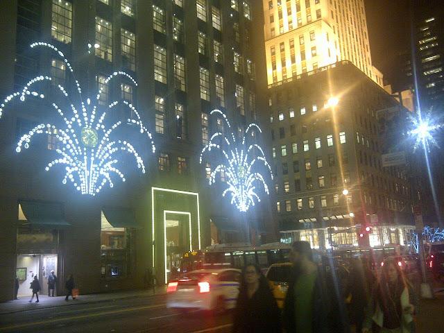 New York luci di Natale