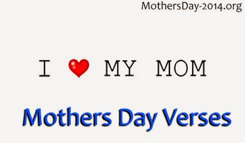 Mothers Day Verses 2018