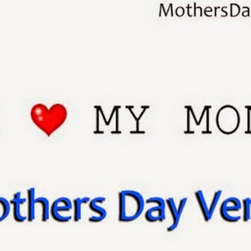 Mothers Day Verses 2015 Top # 20+