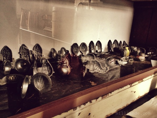 Victorian Icecream Molds and Sorbet Molds ,Art Inspiration at Petworth House , West Sussex , Victorian Era Aestetics