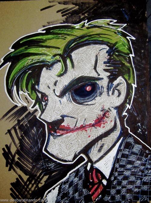 joker desenhos arte uminga viloes desbaratinando