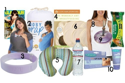 breastfeeding items