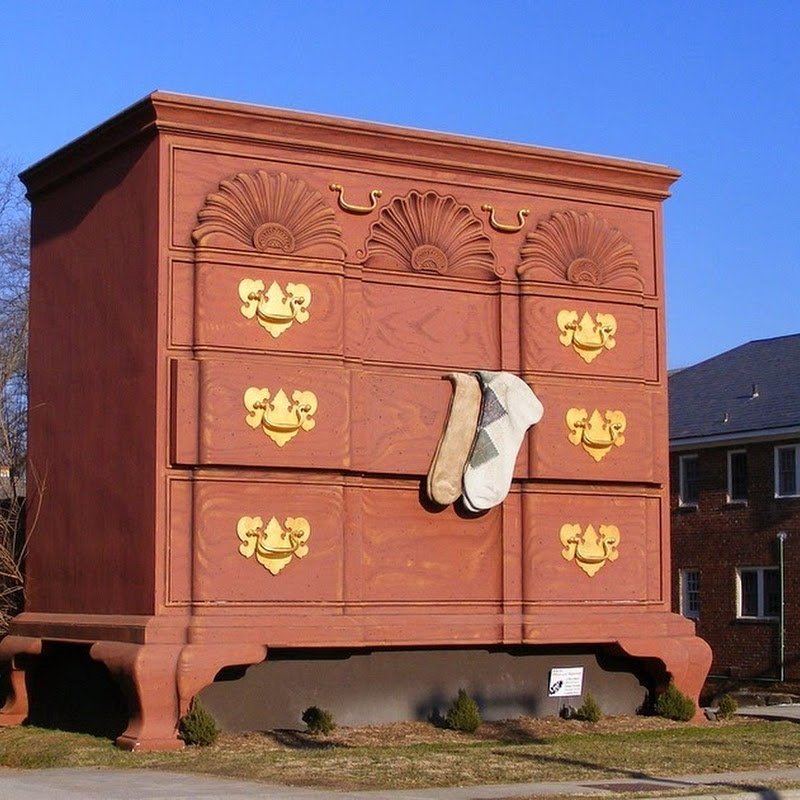Gigantic Chest of Drawers at High Point, North Carolina