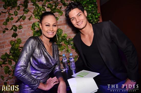 Hosts Venus Raj & Daniel Matsunaga