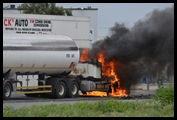 TRUCKERS STRIKE FUEL TANK BURNING OUTSIDE AFROX EPPING JHB OCT32012 jpg