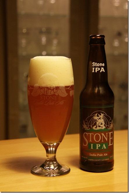 Stone IPA g&b