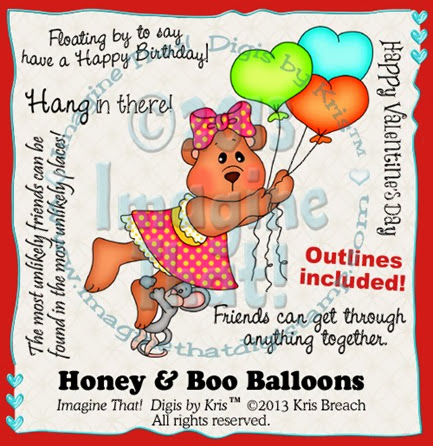 PROMO Honey & Boo Balloons