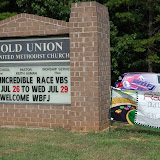 VBS Express Old Union Methodist Sophia, NC 7-28-09