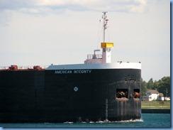 7745 Ontario  - Sault Ste Marie - American Integrity self unloading bulk carrier