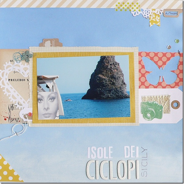 cafe creativo - sizzix big shot - Travel - Sicily (1)