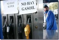 NO HAY GASOIL