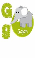 Screenshot of FlashCard Indonesia: Abjad