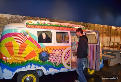 Now that's a hippie bus!