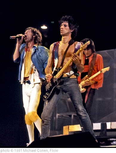 'The Rolling Stones 'Triumverat' - Rupp Arena, Lexington Kentucky [December 11, 1981]' photo (c) 1981, Michael Conen - license: http://creativecommons.org/licenses/by-sa/2.0/