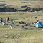 Вид лагеря первого дня