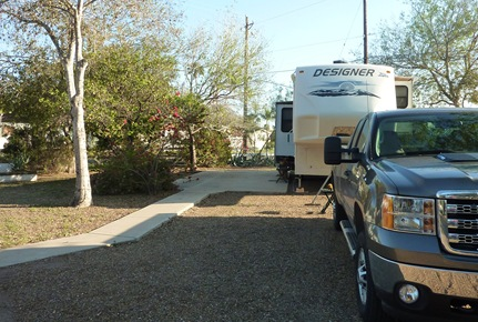 Site at Americana RV Resort Mission, Texas