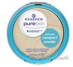 Anti-spot compact powder - 03 nude