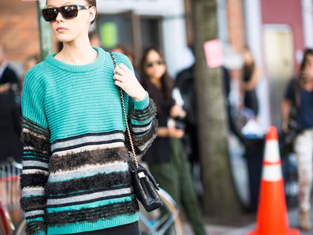 Inspiration: Stripes in NYFW