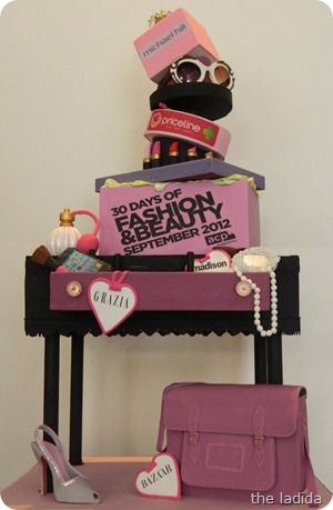 30 Days of Fashion and Beauty Cake