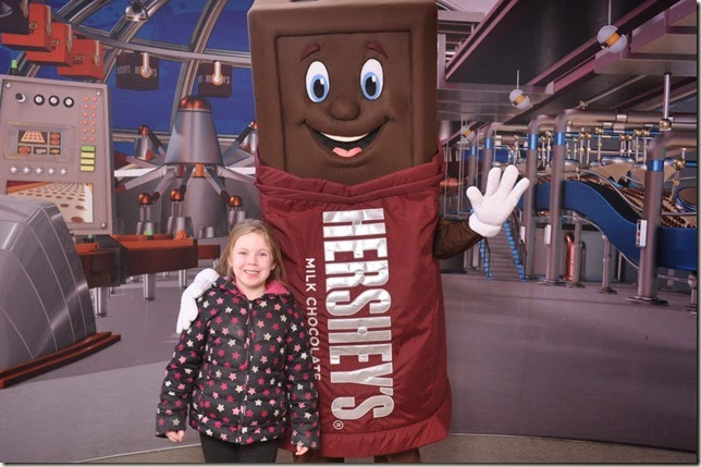 Hershey Chocolate World 2015 Kaitlyn
