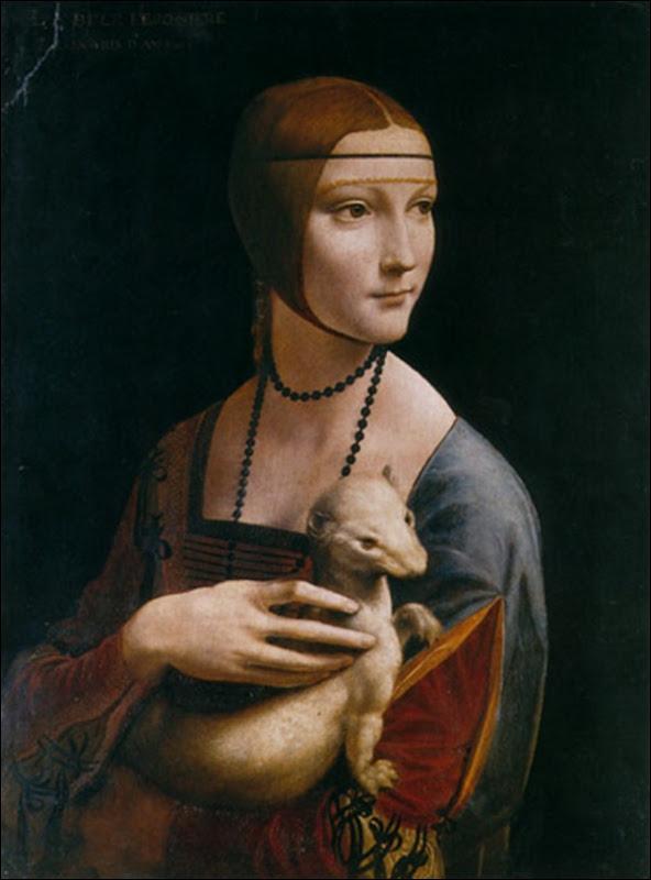 Leonard de Vinci, La dame à l'hermine