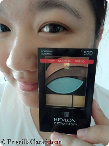 Priscilla review Revlon Photoready Eyeshadow