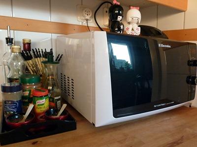 Ny mikro till köket