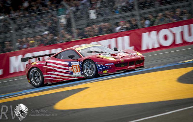 AF CORSE-WALTRIP, FERRARI 458 ITALIA, LM GTE Am, Drivers: Robert KAUFFMAN (USA), Rui AGUAS (PRT), Brian VICKERS (USA)  (PHOTO: Rolex / Stephan Cooper)