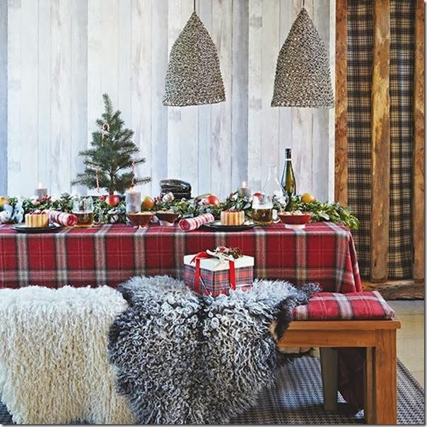 10 tavole addobbate per le feste case e interni - Case norvegesi interni ...