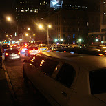 limos in the meat packing district in New York City, New York, United States