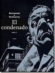 El Condenado Portada Tomo 2