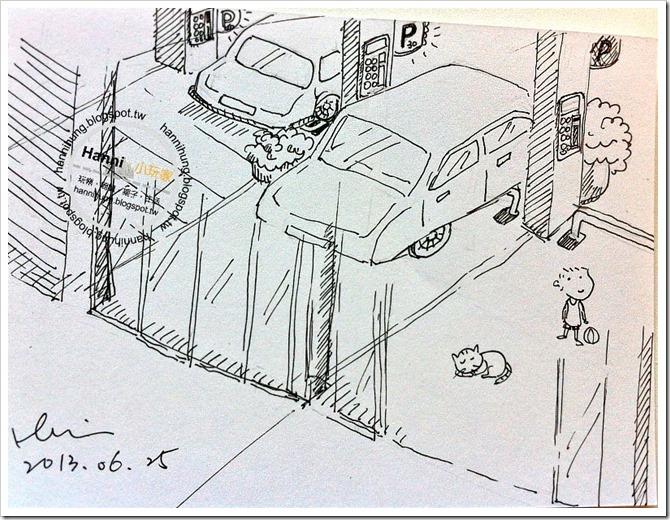 騎樓停車場