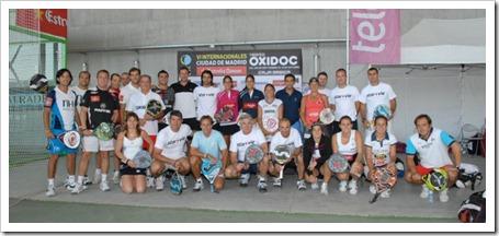 El Torneo Proam VIP, con exfutbolistas y los mejores del jugadores del circuito bwin Padel Pro Tour, ejerce de aperitivo del cuadro final del Bwin PPT Ciudad de Madrid en la Caja Mágica.