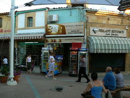 Green line: Turkish Ledra streets