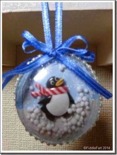 Halogen bulb Christmas Bauble 1