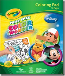 Crayola Color Wonder Disney Refill coloring pad