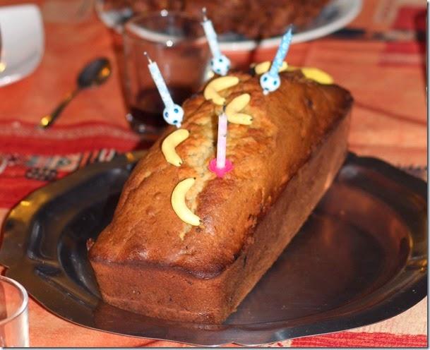 Cake Banane Chocolat 4