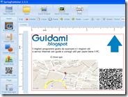 Creare biglietti da visita al PC con logo, mappa, testo, codice QR, simboli: SpringPublisher