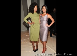 Corinne Bailey Rae and Olivia Munn
