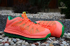 nike lebron 10 low gr watermelon 6 05 Release Reminder: Nike LeBron X Bright Mango aka Watermelon